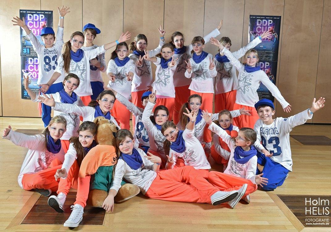 15. DDP Cup 2015 im Congress Center  HoyWoyKids aus Hoyerswerda Dresden  © Foto :  Holm Helis 310115