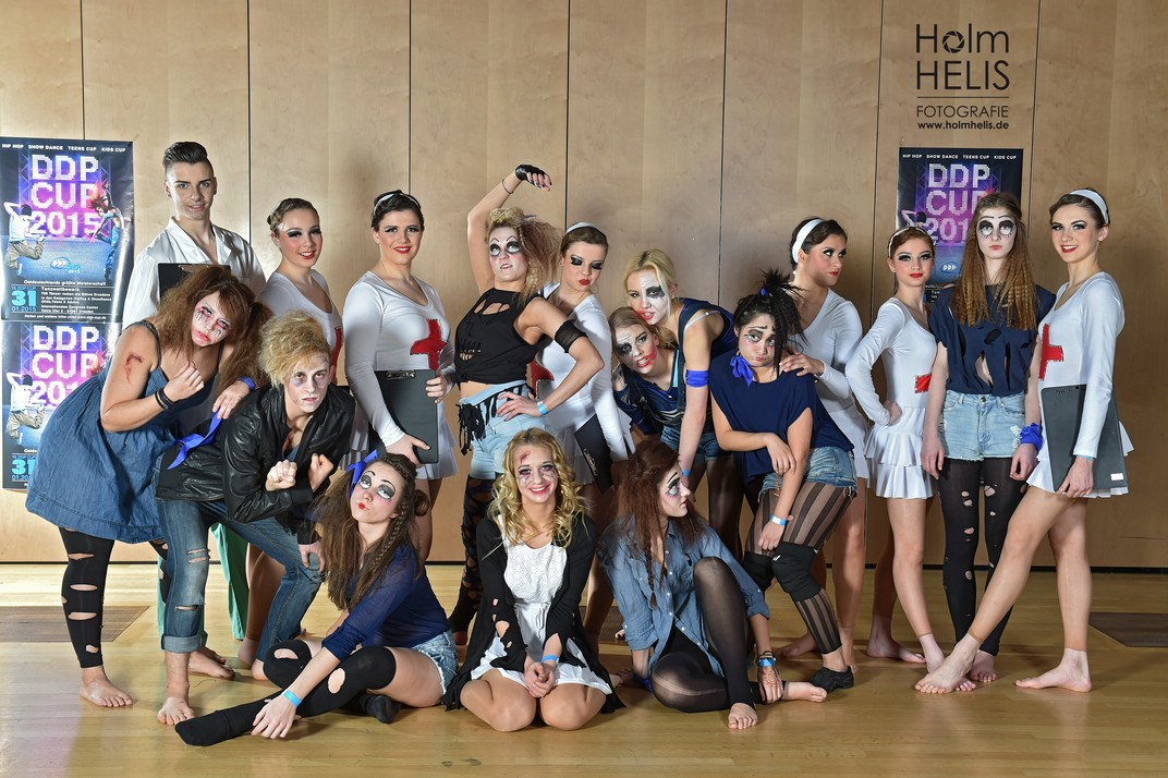 15. DDP Cup 2015 im Congress Center  Beautiful Disaster aus Fuerstenwalde Dresden  © Foto :  Holm Helis 310115